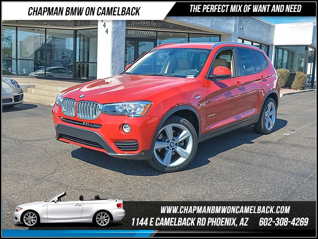 2017 BMW X3 xDrive28i 17404 miles Driver Assistance Package Wireless data link Bluetooth Cruise