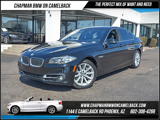 2015 BMW 5-Series 535i 35250 miles Driving Assistance Package Premium Package Heated front seat
