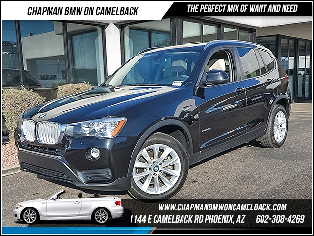 2015 BMW X3 xDrive28i 40172 miles Premium Package Wireless data link Bluetooth Phone hands free