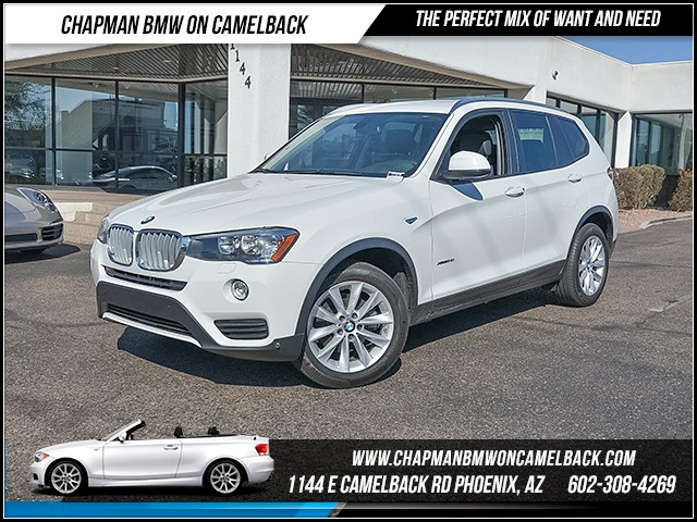 2017 BMW X3 xDrive28i 19187 miles Driver Assistance Package Wireless data link Bluetooth Phone