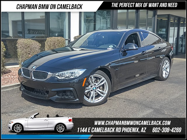 2015 BMW 4-Series 435i Gran Coupe 24381 miles 6023852286 Chapman BMW on Camelback CPO Sales