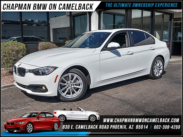 2017 BMW 3-Series Sdn 320i 9733 miles 6023852286 Chapman BMW on Camelback CPO Sales Event
