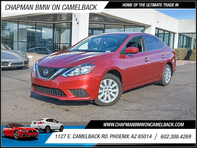 2016 Nissan Sentra SV 8386 miles Chapman Value Center on Camelback is specializing in late model