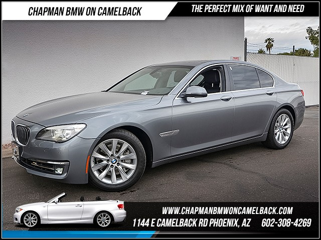2013 BMW 7-Series 740i 51025 miles Wireless data link Bluetooth Satellite communications BMW Ass