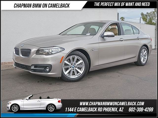 2015 BMW 5-Series 528i xDrive 20862 miles Wireless data link Bluetooth Satellite communications