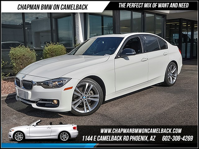 2012 BMW 3-Series Sdn 328i 47852 miles Sport Line Premium Package Phone pre-wired for phone Wi