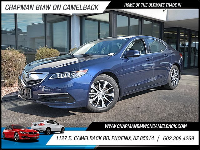 2015 Acura TLX wTech 44115 miles Wireless data link Bluetooth Electronic messaging assistance w