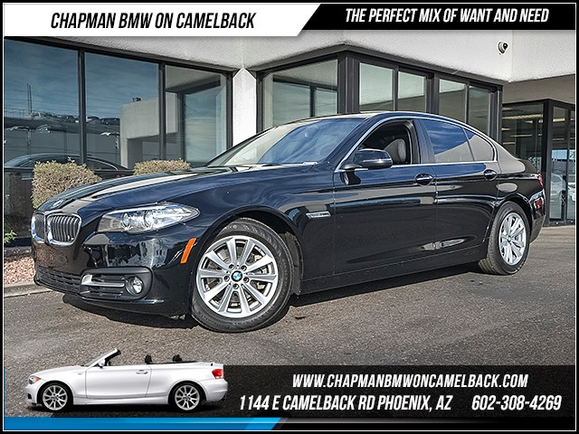2016 BMW 5-Series 528i 21365 miles 1127 E Camelback Rd 6023852286 Under Construction Sales Ev