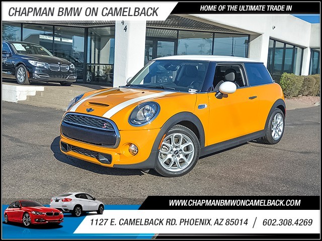 2015 MINI Cooper S Hardtop 28384 miles Chapman Value Center on Camelback is specializing in late