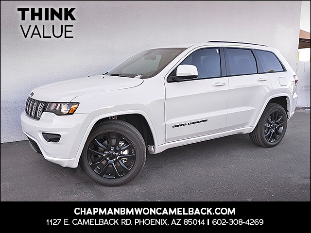 2018 Jeep Grand Cherokee Altitude 1446 miles Phone hands free Real time traffic Wireless data l
