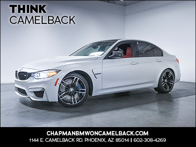 2015 BMW M3 29635 miles Executive Package Driving Assistance Plus Phone hands free Real time t