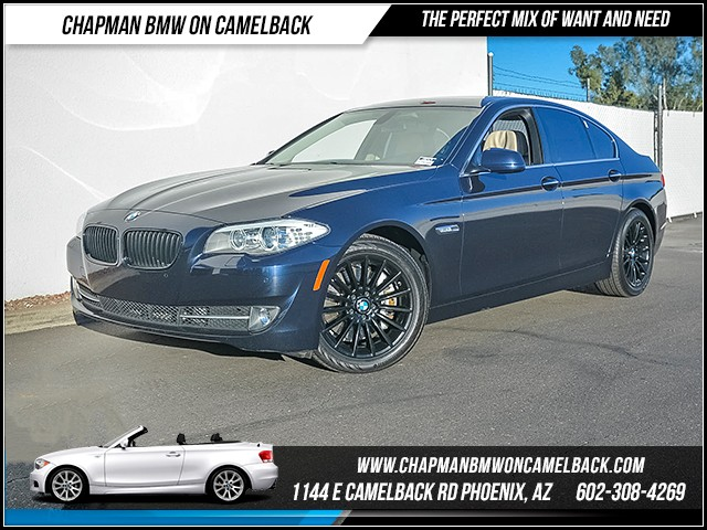 2012 BMW 5-Series 535i 75556 miles Luxury Seating Package premium Package Technology Package S