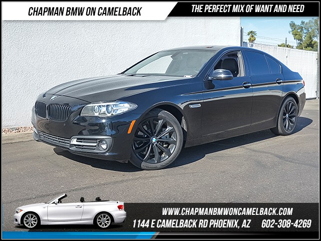 2015 BMW 5-Series 528i 33874 miles Special Edition Wireless data link Bluetooth Real time traff