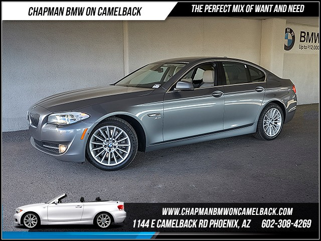 2012 BMW 5-Series 535i xDrive 62065 miles Premium Package Technology Package Driving Assistance