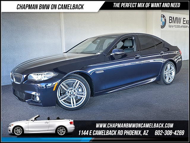 2015 BMW 5-Series 535d 32904 miles M Sport Package Premium Package Driver Assistance Package D