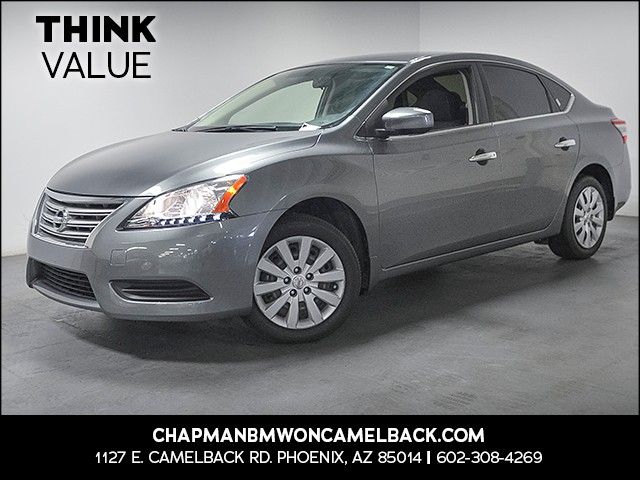 2015 Nissan Sentra SV 27402 miles Electronic messaging assistance Wireless data link Bluetooth