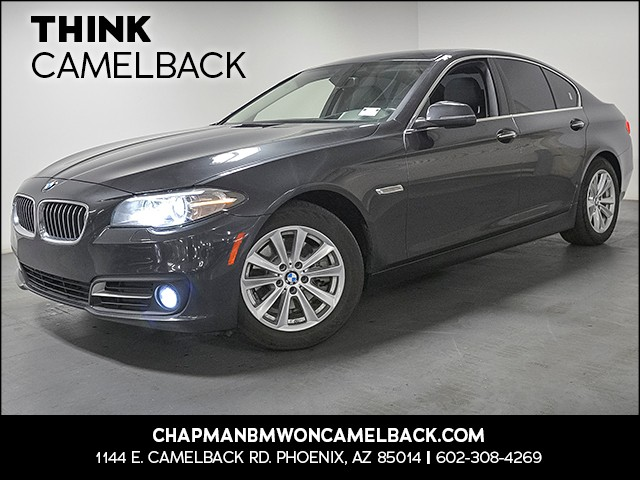 2015 BMW 5-Series 528i 30877 miles Driver Assistance Package Wireless data link Bluetooth Real