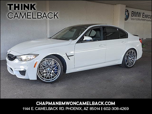 2017 BMW M3 15041 miles Presidents Day Weekend Sale at Chapman BMW on Camelback Extra Incentives