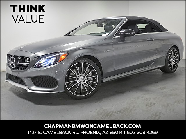 2017 Mercedes C-Class AMG C 43 19000 miles Phone hands free Wireless data link Bluetooth Satell