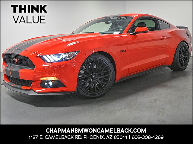 2017 Ford Mustang GT Premium 3479 miles Roush 50 Exhaust Roush X-Pipe Roush Suspension Kit Ro