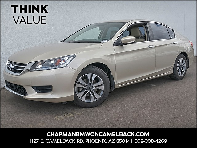 2015 Honda Accord LX 16294 miles Wireless data link Bluetooth Cruise control 2-stage unlocking