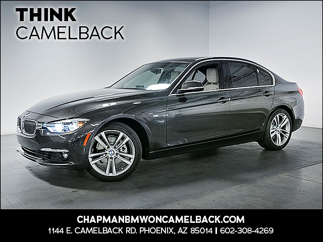 2017 BMW 3-Series Sdn 330i 12969 miles 1144 E Camelback Rd 6023852286 Chapman BMW on Camelbac