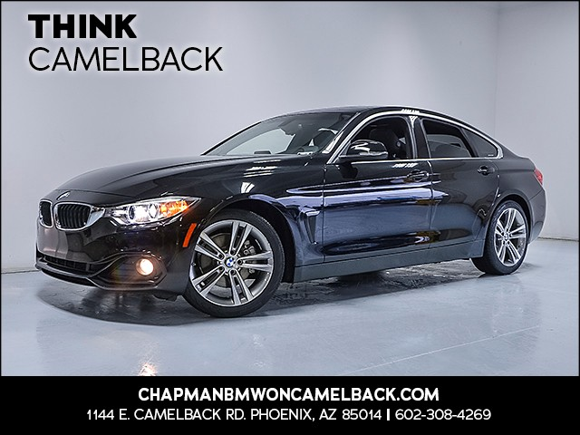 2017 BMW 4-Series 430i Gran Coupe 15324 miles Why Camelback Chapman BMW on