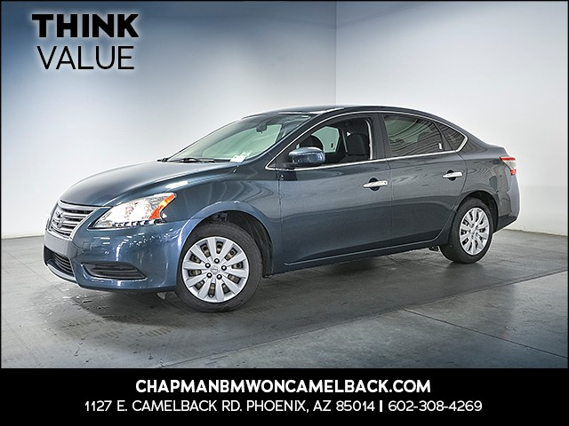 2013 Nissan Sentra S 47727 miles 6023852286 Chapman Value Center in Phoenix specializing in