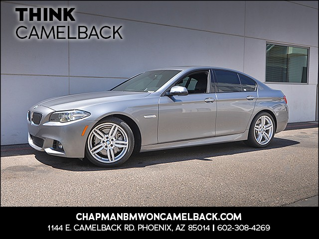 2015 BMW 5-Series 535i 21064 miles Why Camelback Chapman BMW on Camelback i