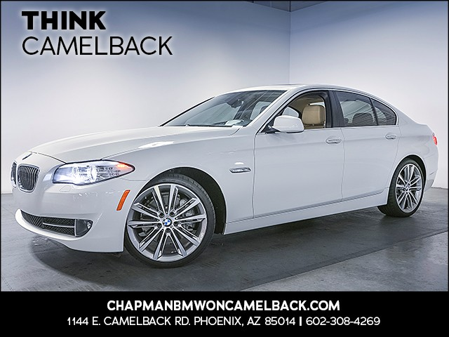 2013 BMW 5-Series 535i 44238 miles Premium Package Technology Package Heate