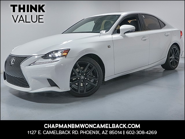 2015 Lexus IS 250 Crafted Line 53552 miles VIN JTHBF1D26F5045818 For more information contact