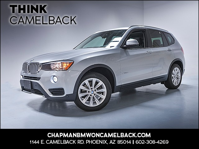 2017 BMW X3 xDrive28i 16452 miles Why Camelback Chapman BMW on Camelback uses real time market