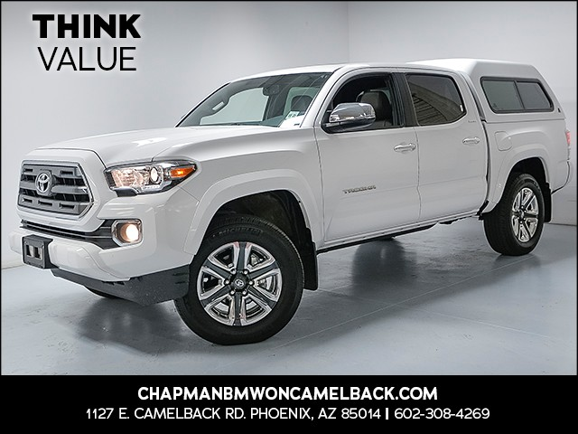 2016 Toyota Tacoma Limited Crew Cab 7262 miles 6023852286Think Camelback Chapman Value Ce