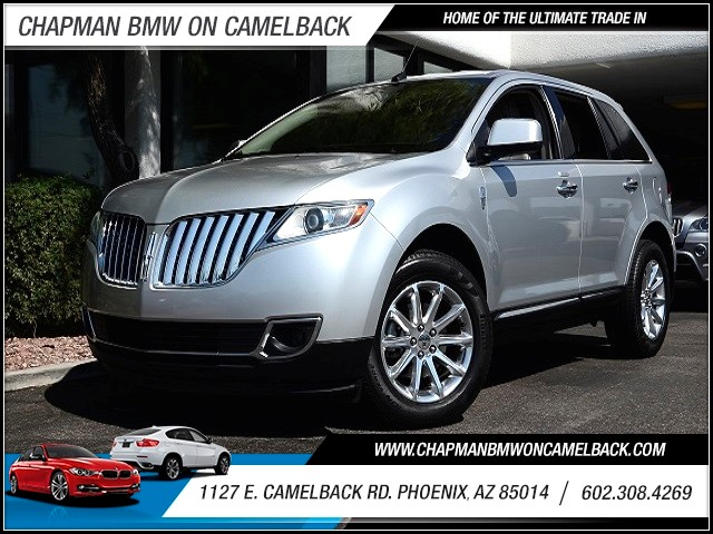 2011 Lincoln MKX 86102 miles 1127 E Camelback BUY WITH CONFIDENCE Chapman BMW is located