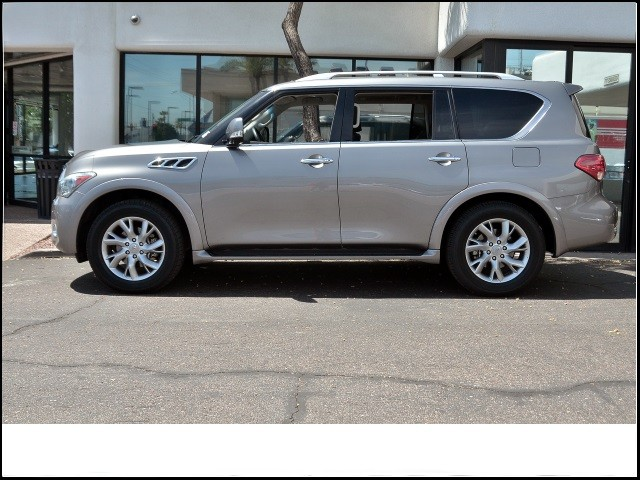 used 2013 infiniti qx56 stock x161050a chapman. Black Bedroom Furniture Sets. Home Design Ideas