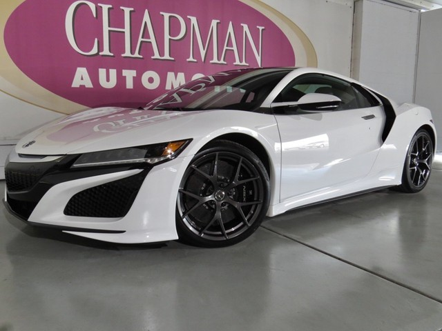 2017 Acura NSX AWD Sport Hybrid 0 miles Apple CarPlay ready Radio touch scr