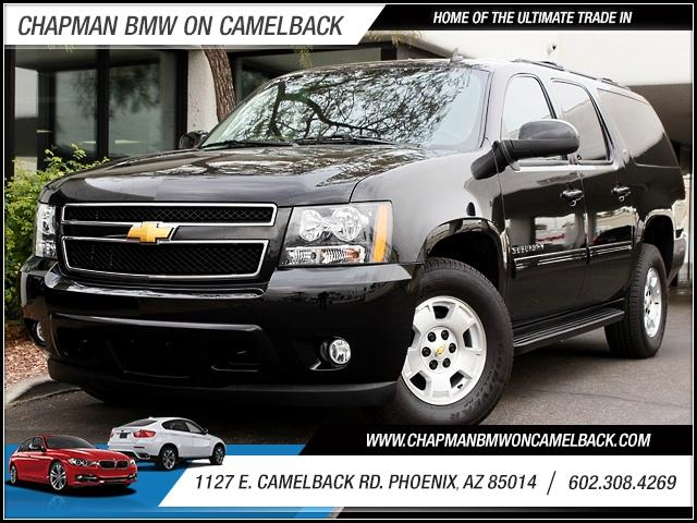 2013 Chevrolet Suburban 1500 LT 4WD 11818 miles The LT adds foglights roof rack crossbars a lock