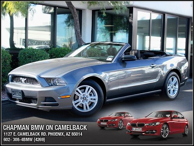 2013 Ford Mustang Conv 42339 miles 1127 E Camelback BUY WITH CONFIDENCE Chapman BMW is lo