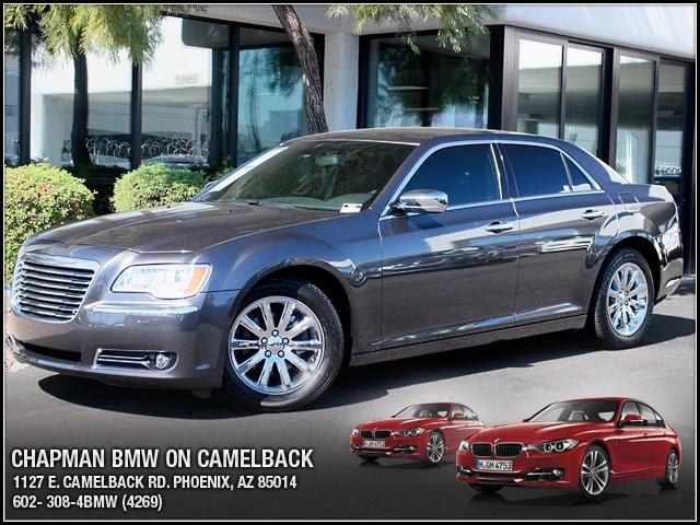 2013 Chrysler 300 C 20956 miles 1127 E Camelback BUY WITH CONFIDENCE Chapman BMW is locat