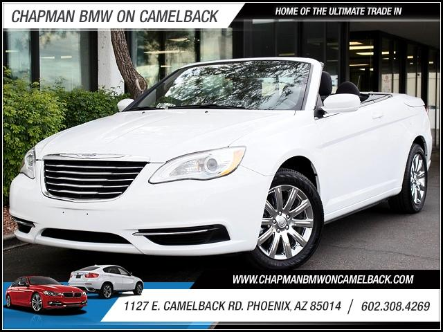 2013 Chrysler 200 Conv Touring 25593 miles The Touring adds to or supplants the LX s amenities wit