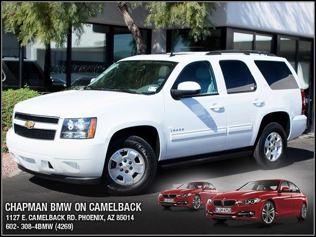 2013 Chevrolet Tahoe 1500 LT 31197 miles 1127 E Camelback BUY WITH CONFIDENCE Chapman BMW