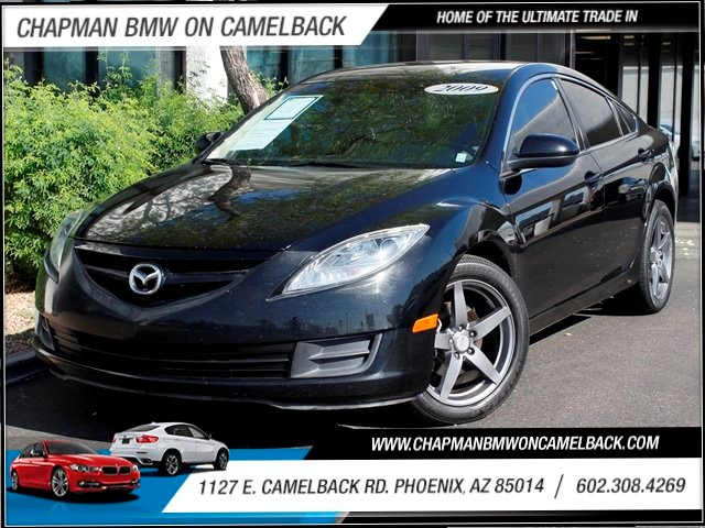 2009 Mazda MAZDA6 i Sport 89919 miles One Previous Owner Custom Black Powder Coated Wheels Cruis