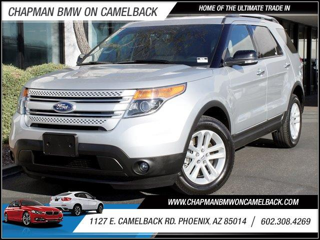 2013 Ford Explorer 4WD 4dr XLT 18624 miles Warranty Third Row Seating Advance Trac Keyless Entr