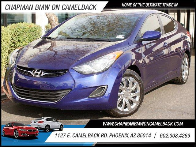 2013 Hyundai Elantra GLS 44362 miles 1127 E Camelback BUY WITH CONFIDENCE Chapman BMW is