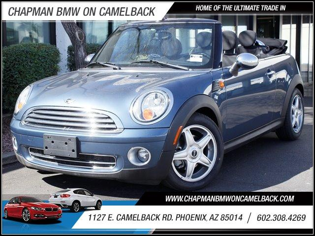 2009 MINI Cooper Convertible 40852 miles 1127 E Camelback BUY WITH CONFIDENCE Chapman BMW