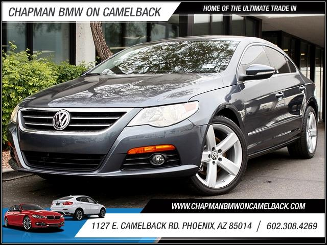 2012 Volkswagen CC Lux Turbo 20 22351 miles 1127 E Camelback BUY WITH CONFIDENCE Chapman