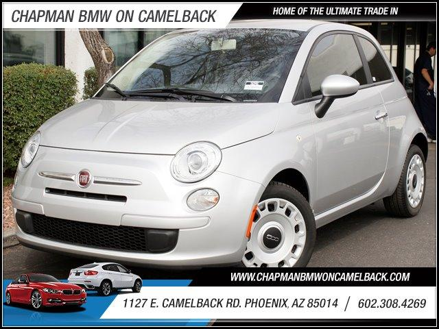 2012 FIAT 500 2dr Cpe Pop 10368 miles 1127 E Camelback BUY WITH CONFIDENCE Chapman BMW is