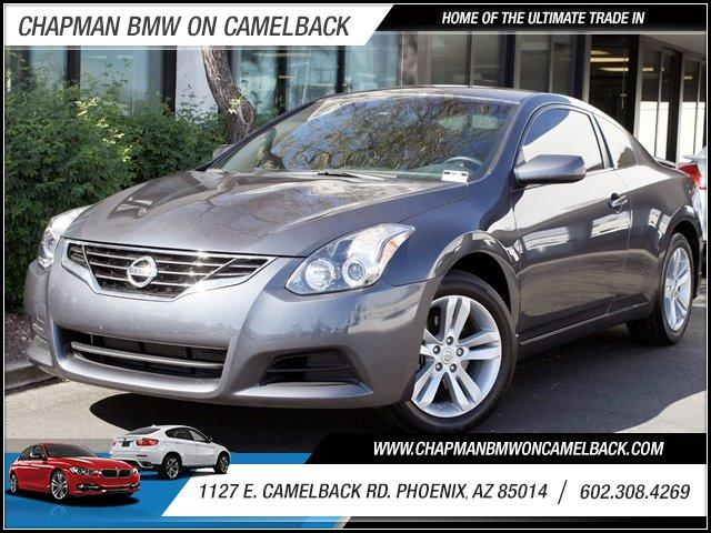2012 Nissan Altima 25 S 17353 miles 1127 E Camelback BUY WITH CONFIDENCE Chapman BMW is