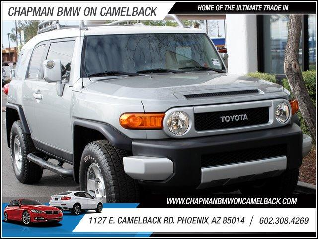 2010 Toyota FJ Cruiser 4WD 25431 miles 1127 E Camelback BUY WITH CONFIDENCE Chapman BMW i