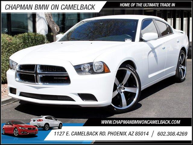 2013 Dodge Charger 4dr Sdn SE RWD 23531 miles 1127 E Camelback BUY WITH CONFIDENCE Chapma